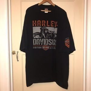 HARLEY DAVIDSON Motorcycle T Shirt Sz 5X